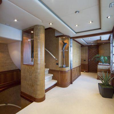 Azul V Yacht Foyer