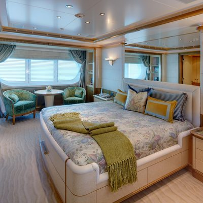 Pegasus VIII Yacht Guest Stateroom 2