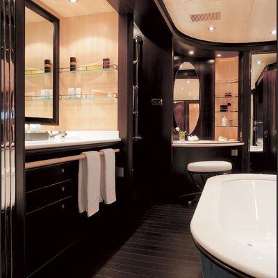 Parsifal III Yacht Bathroom