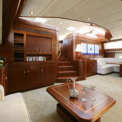 Infatuation Yacht Main Saloon