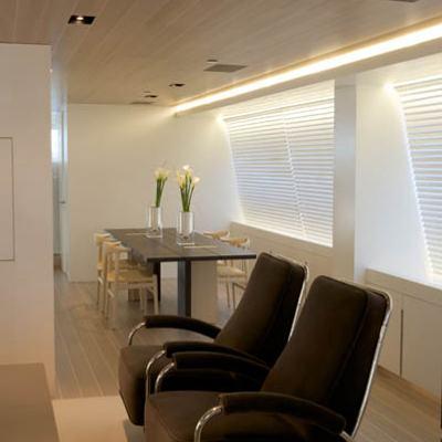 Baracuda Valletta Yacht Seating & Dining Salon
