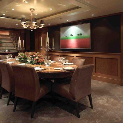 Utopia Yacht Dining Salon