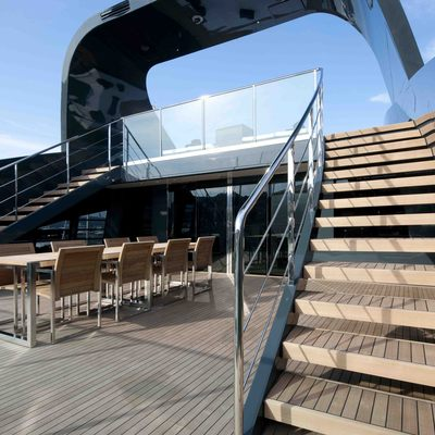 Ocean Pearl Yacht Exterior Dining