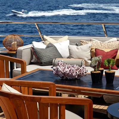 April Yacht Sundeck Tables
