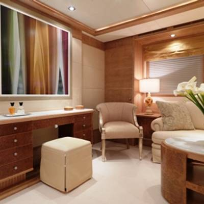 Balaju Yacht Master Stateroom - Vanity
