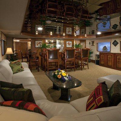 Golden Compass Yacht Main Salon