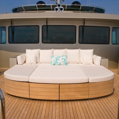 Odessa Yacht Foredeck - Sunpads