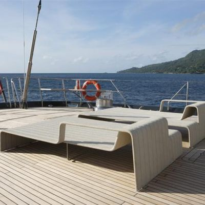 Red Dragon Yacht Sun Loungers