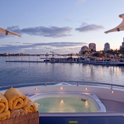 Sojourn Yacht Sun Deck Jacuzzi