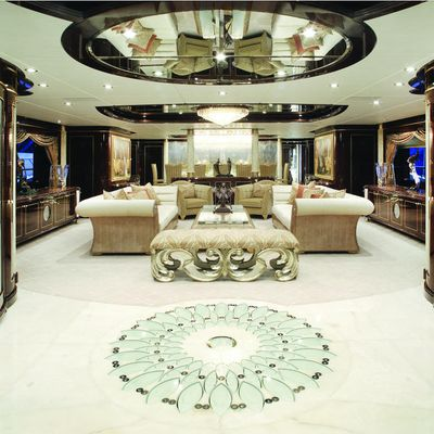 Diamonds Are Forever Yacht Main Salon