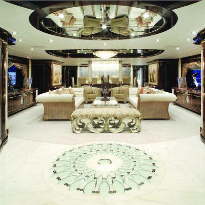Diamonds Are Forever Yacht Main Salon