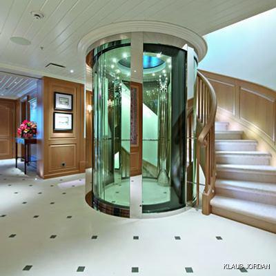 Huntress Yacht Elevator