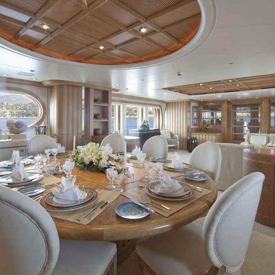 Deja Too Yacht Dining