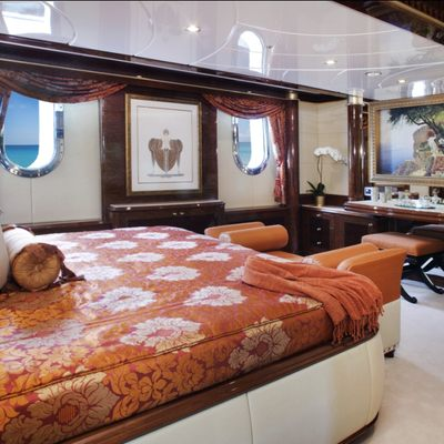 Diamonds Are Forever Yacht Guest Stateroom - Red