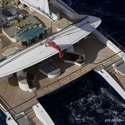 Hemisphere Yacht Overhead - Stern
