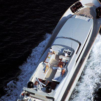 Kintaro Yacht Overhead