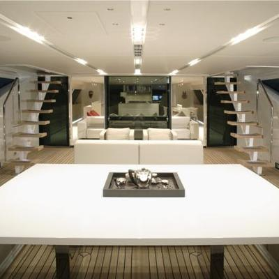 Red Dragon Yacht View Inside