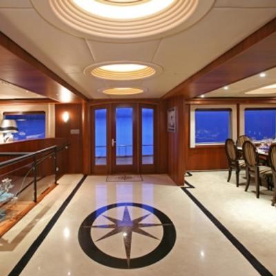 Daydream Yacht Lobby