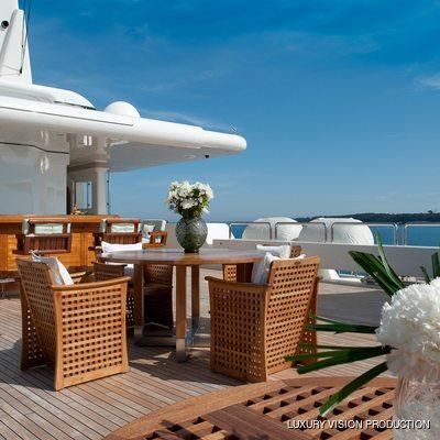 Boadicea Yacht Sundeck