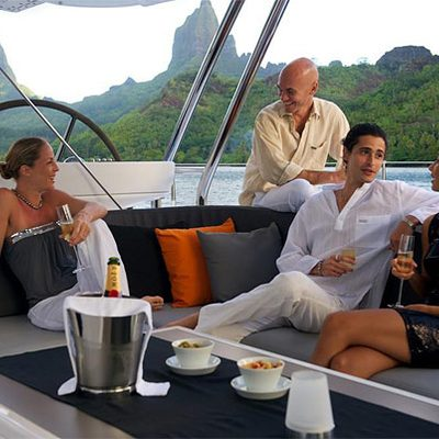 Bliss Yacht Exterior Drinks