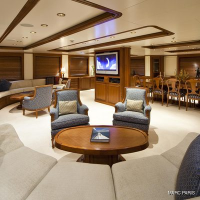 Seawolf Yacht Main Salon - Seating