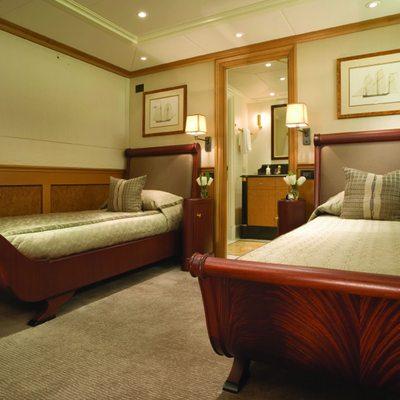 Utopia Yacht Twin Stateroom