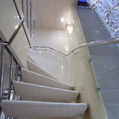 Daloli Yacht Staircase