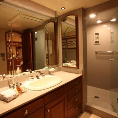 Daydream Yacht Shower Room