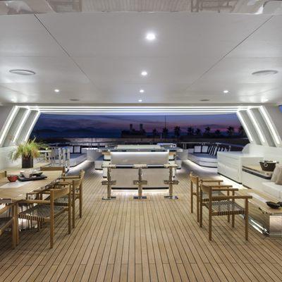 Liquid Sky Yacht Sundeck Seating