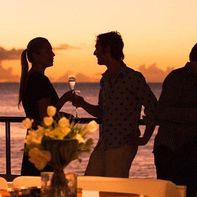 Elegant 007 Yacht Sunset Drinks