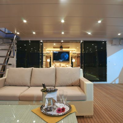 Tatiana Yacht View Inside