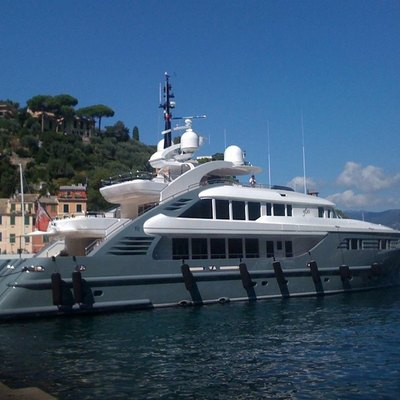 Lady MM Yacht Moored