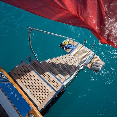 Antara Yacht Swim Platform - Overhead