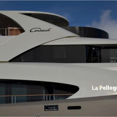 La Pellegrina I Yacht Artist's Impression - Side