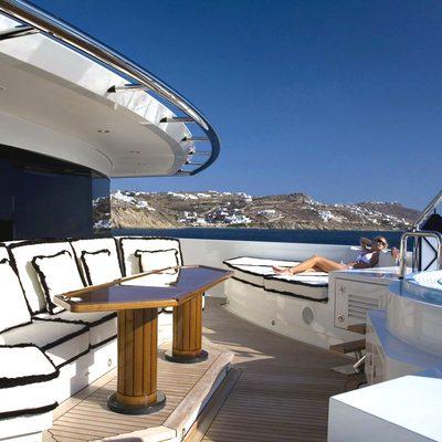 Alfa Nero Yacht Jacuzzi with Seating