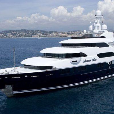 Horizons III Yacht Side View