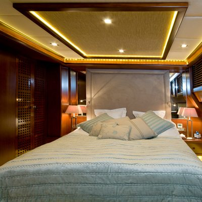 Daima Yacht Blue Guest Stateroom