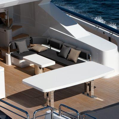 Quantum Yacht Aerial - Aft Deck
