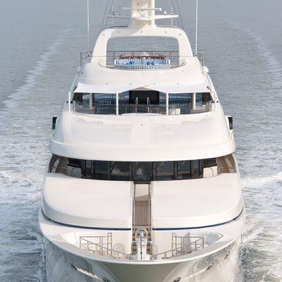 Lady Kathryn V Yacht Bow