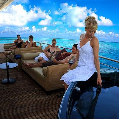 Dhaainkan'baa Yacht Exterior Seating