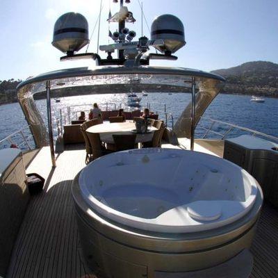 Hooligan II Yacht Jacuzzi