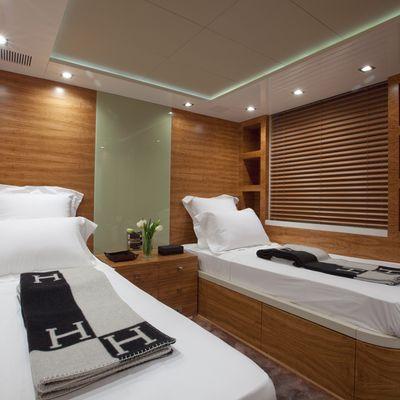 Sierra Romeo Yacht Twin Stateroom