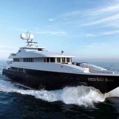 Zaliv III Yacht Running Shot