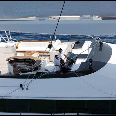 Parsifal III Yacht Helm