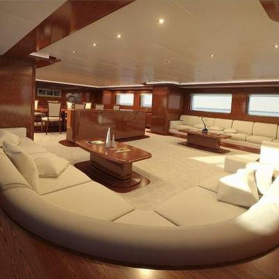 Baron Trenck Yacht Salon - Sofa