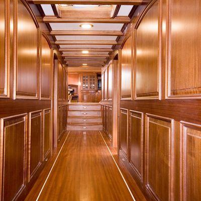 Take It Easier Yacht Hallway