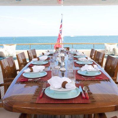 Avalon Yacht Main Deck Dining