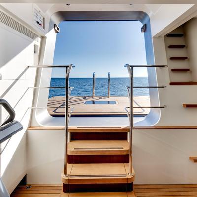 Vertigo Yacht Swim Platform/Gym