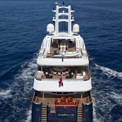 Baraka Yacht Stern
