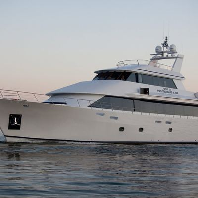 Liquidity Yacht Side View